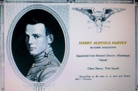 harry a harve yearbook page