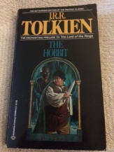 My personal copy of The Hobbit