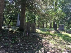 Cemetery in Belfast Maine