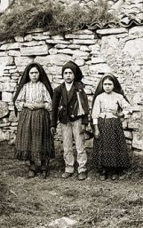 Jacinta and Francisco Martos and Lucia dos Santos
