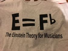 My new hilarious music t-shirt.